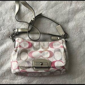 Coach crossbody style purse
